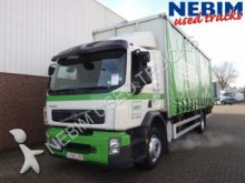 used Volvo tautliner truck