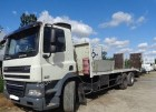used DAF heavy equipment transport truck