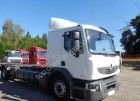 used Renault container truck