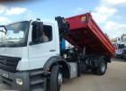 Mercedes AXOR 1824Wywrot+Dzwig truck