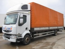 camion camion platforma cu prelata si obloane Renault second-hand