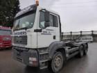 tweedehands vrachtwagen containervervoer MAN