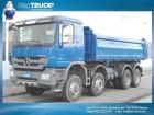 Mercedes Actros 4141K 8X6 Meiller Euro5 Bordwand 1000mm truck
