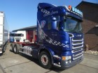 used Scania chassis truck