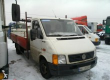 ciężarówka burtoplandeka Volkswagen używana