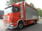 used Scania livestock truck