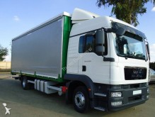 camión lona corredera (tautliner) caja abierta entoldada usado
