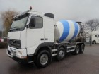 camión Volvo FH 12 420 8x4 big axle, full steel