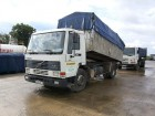 camion benă transport cereale accidentat
