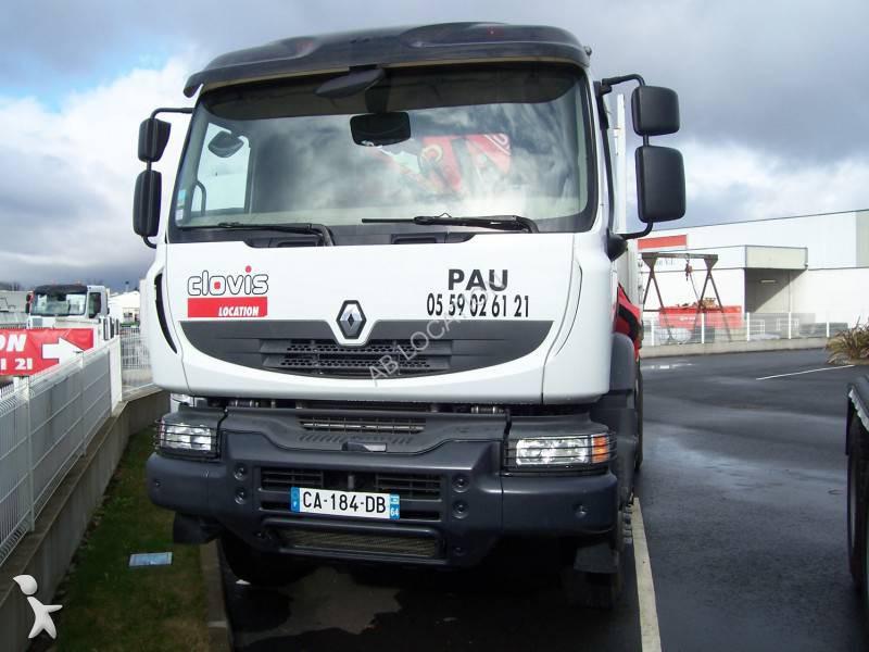 camion renault bi benne kerax 4x2 gazoil euro 5 grue occasion n 1206562. Black Bedroom Furniture Sets. Home Design Ideas
