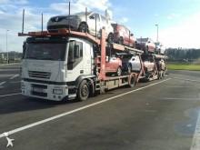 camion pentru transport autovehicule Iveco second-hand