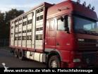 camion DAF XF 95/480 SSC Stehmann 4Stock Vollalu Hubdach