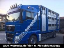 camión MAN TGX 18.480 XL mit 3 Stock Aufbau Lüfter