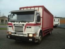 used Scania livestock truck