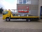 camion Mitsubishi Canter - Schiebeplateau - Brille - TÜV NEU!