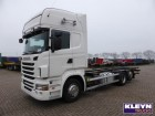 used Scania container truck