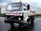 used Volvo three-way side tipper truck