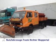 camión Volkswagen LT 45 Doka Allrad, mit Winterdienstausrüstung!