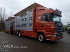 camion transport animale Scania second-hand