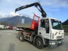 camion Iveco Eurocargo Eurocargo 120E24 RIbaltabile + Gru