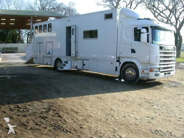 camion scania van chevaux l 94l310 4x2 gazoil euro 1. Black Bedroom Furniture Sets. Home Design Ideas