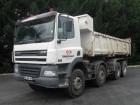 camion benă bilaterala DAF second-hand