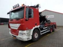 camión portacontenedores DAF usado