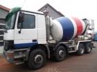 camion betoniera cu rotor/ Malaxor Mercedes second-hand