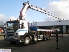 Scania P380 8x4 + Hiab XS 700 E-9 HiPro + winch truck