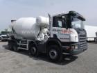 gebrauchter Scania LKW Betonmischfahrzeug Kreisel / Mischer
