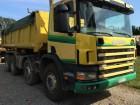 camião bi-basculante Scania usado