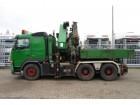 camión Volvo FM12 420 6x4 PALFINGER PK56002 +JIB, TRACTOR+OPE