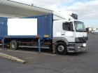 used Mercedes container truck
