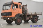camion Mercedes 1622 Kipper / Kran