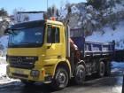 camion benne céréalière Mercedes occasion