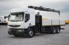 ciężarówka Renault 410.26 / E5 / / SKRZYNIOWY + HDS