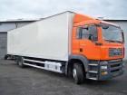 ciężarówka furgon MAN używana