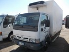 used Nissan multi temperature refrigerated truck