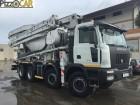 camion calcestruzzo betoniera mescolatore + pompa Astra usato