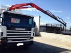 ciężarówka wywrotka Scania używana