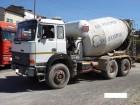used Iveco concrete mixer + pump truck concrete truck