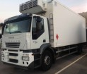 used Iveco multi temperature refrigerated truck