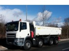 used DAF two-way side tipper truck
