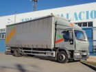 used Iveco sliding tarp system truck