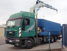 used Iveco flatbed truck