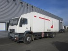 used MAN folding wall box truck