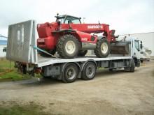 used Renault heavy equipment transport truck