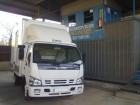 camión furgón Isuzu usado