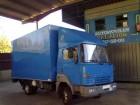 camión furgón Nissan usado