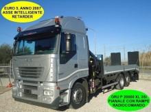 Iveco Stralis STRALIS AS 260S42 GRU + PIANALE CARRELLONE RAMPE truck